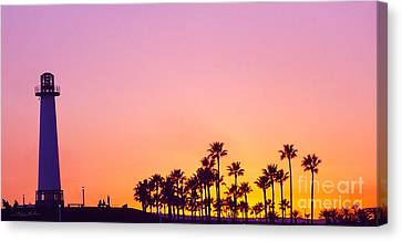 Warm Sunset Canvas Print by Gem S Visionary