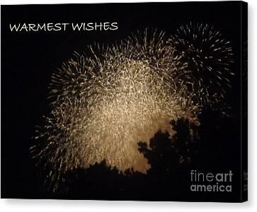 Warmet Wishes Canvas Print by Christina Verdgeline