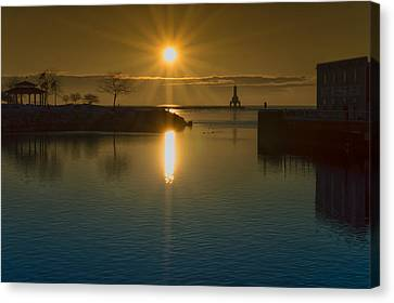 Warming Sun Canvas Print
