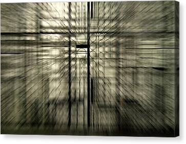 Warp Gate Canvas Print by Frederico Borges