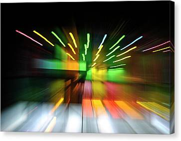 Warping Colors Canvas Print by Frederico Borges