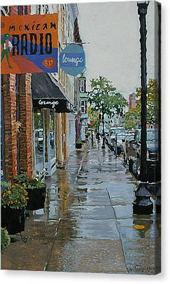 Warren Above Fifth Canvas Print by Kenneth Young