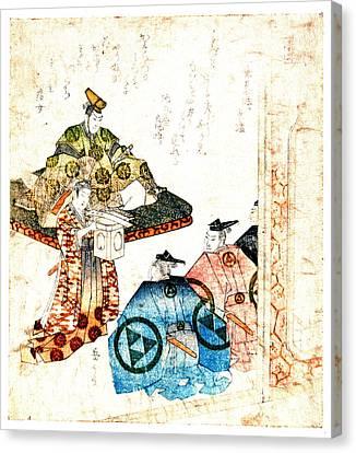 Warrior Hojo Yasutoki 1818 Canvas Print by Padre Art