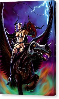 Warrior Queen Canvas Print