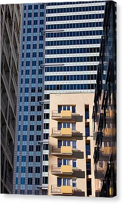 Warsaw Downtown Architecture Canvas Print by Artur Bogacki