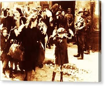 Warsaw Ghetto 1943 Canvas Print