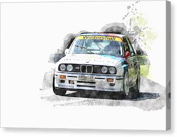 Warsteiner Bmw M3 Canvas Print
