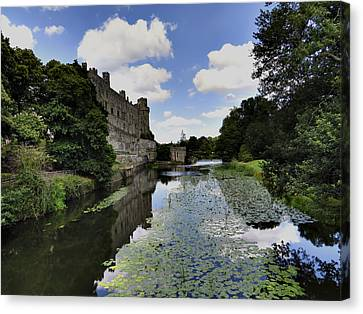 Warwick Castle Canvas Print