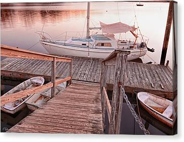 Warwick Marina Park Canvas Print by Lourry Legarde