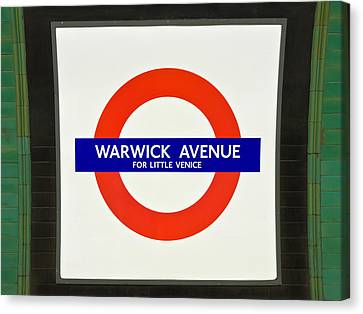 Warwick Station Canvas Print by Keith Armstrong