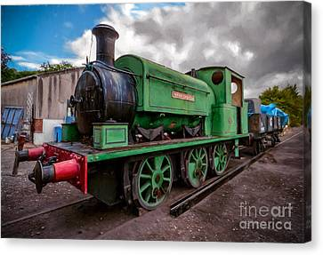 Warwickshire No 2047 Canvas Print by Adrian Evans