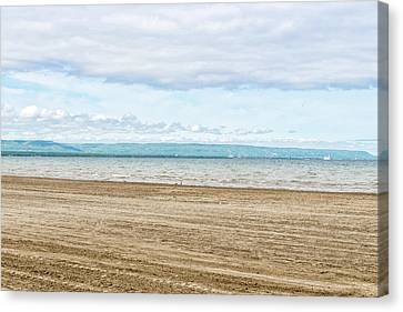 Collingwood Canvas Print - Wasaga Beach With Collingwood And Blue by Panoramic Images