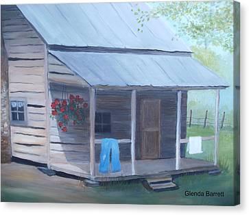 Wash Day Canvas Print by Glenda Barrett