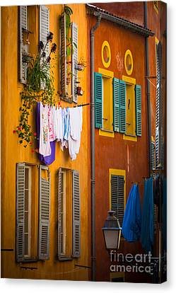 Wash Day Canvas Print by Inge Johnsson