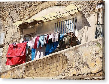 Wash Day The Old Way Canvas Print