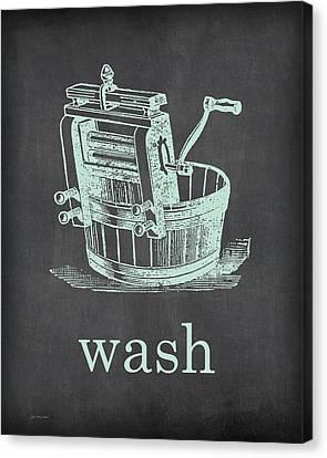 Wash Canvas Print by Jo Moulton