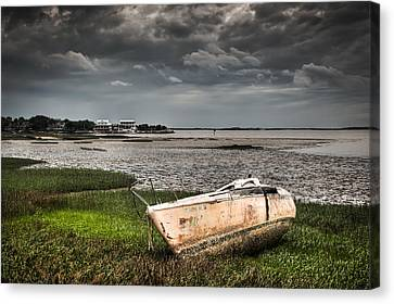 Washed Ashore Canvas Print
