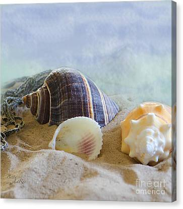 Washed Ashore Canvas Print by Betty LaRue