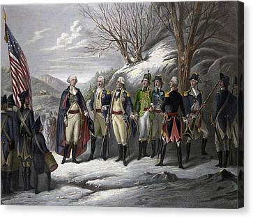Washington & Generals Canvas Print