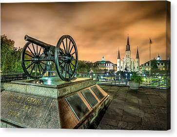 Washington Artillery Park Canvas Print by Tim Stanley