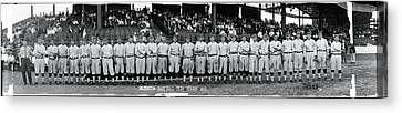 Washington Baseball Team 1913 Canvas Print by Fred Schutz Collection