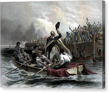 Washington Bids Adieu To His Generals  Canvas Print by War Is Hell Store