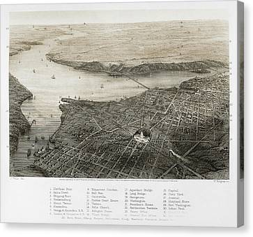 Washington, D.c., 1862 Canvas Print by Granger