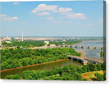D.c. Canvas Print - Washington D.c. Aerial View by Panoramic Images