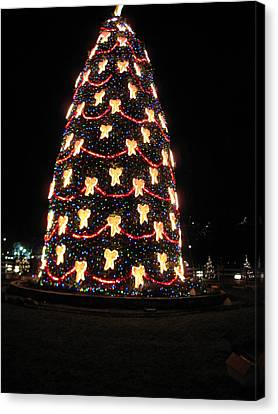 Washington Dc - Christmas At The Ellipse - 12121 Canvas Print by DC Photographer
