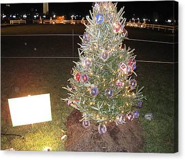 Washington Dc - Christmas At The Ellipse - 12125 Canvas Print by DC Photographer