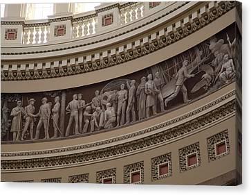 Washington Dc - Us Capitol - 011326 Canvas Print by DC Photographer