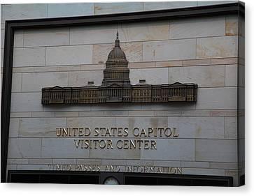 Washington Dc - Us Capitol - 01133 Canvas Print by DC Photographer
