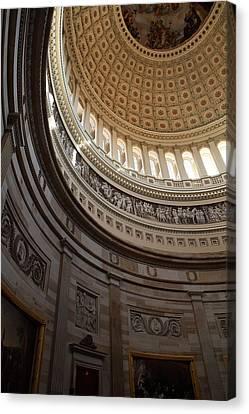 Washington Dc - Us Capitol - 01138 Canvas Print