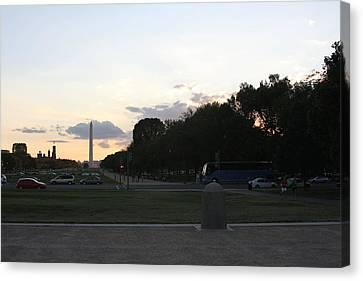 Washington Dc - Washington Monument - 01133 Canvas Print