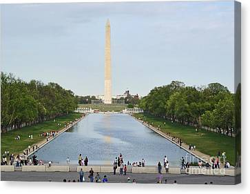 Washington Monument 1 Canvas Print by Tom Doud