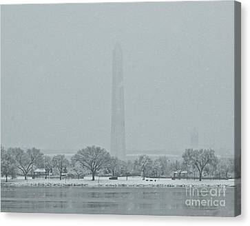 Washington Monument Canvas Print