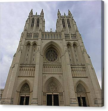 Majesty Canvas Print - Washington National Cathedral - Washington Dc - 01131 by DC Photographer