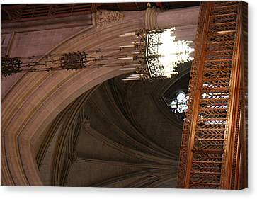 Granite Canvas Print - Washington National Cathedral - Washington Dc - 0113102 by DC Photographer