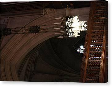 Washington National Cathedral - Washington Dc - 0113103 Canvas Print
