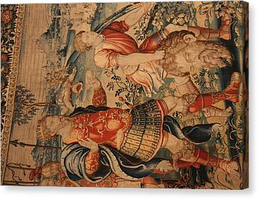 Washington National Cathedral - Washington Dc - 0113105 Canvas Print by DC Photographer