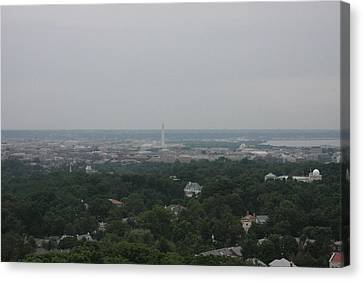 Washington National Cathedral - Washington Dc - 0113109 Canvas Print by DC Photographer