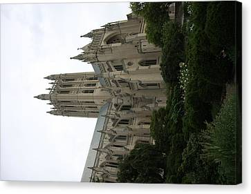 Granite Canvas Print - Washington National Cathedral - Washington Dc - 011350 by DC Photographer