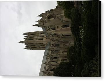 Washington National Cathedral - Washington Dc - 011351 Canvas Print by DC Photographer