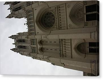 Washington National Cathedral - Washington Dc - 011354 Canvas Print by DC Photographer