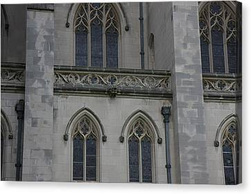 Washington National Cathedral - Washington Dc - 011358 Canvas Print by DC Photographer