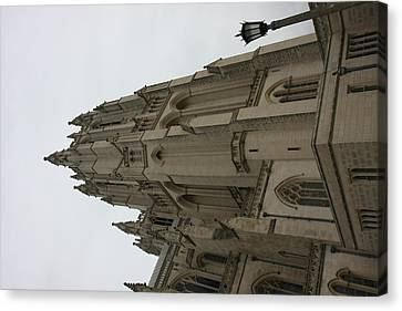 Washington National Cathedral - Washington Dc - 011367 Canvas Print by DC Photographer