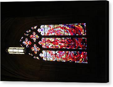 Hallway Canvas Print - Washington National Cathedral - Washington Dc - 011377 by DC Photographer