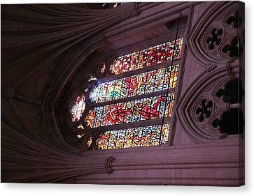 Washington National Cathedral - Washington Dc - 011381 Canvas Print by DC Photographer