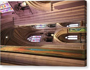 Washington National Cathedral - Washington Dc - 011382 Canvas Print by DC Photographer