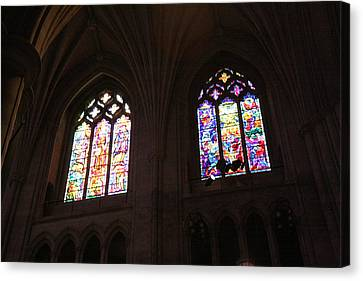 Washington National Cathedral - Washington Dc - 011394 Canvas Print by DC Photographer